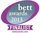 BETT Finalist 2013 Awards with link to site